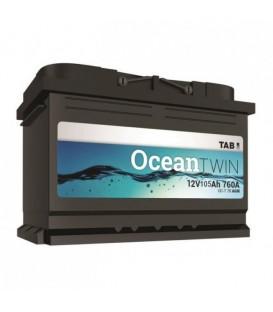 TAB 120 Ah Ocean Twin akumuliatorius