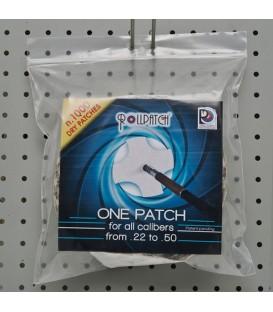 PAUL CLEAN ROLL PATCH RIFLE 1000 servetėlės graižtvinių šautuvų valymui