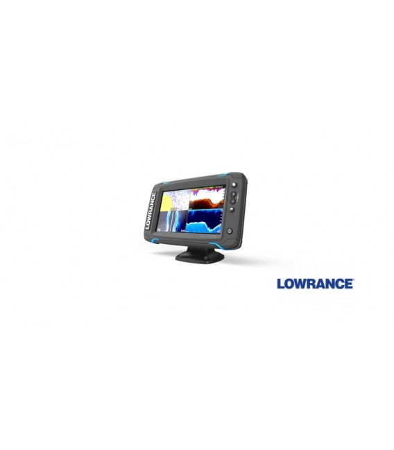 Echolotas  Lowrance Elite-7 Ti Mid/High/DownScan