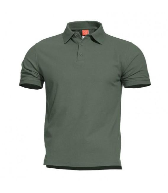 Pentagon Aniketos žali polo marškinėliai