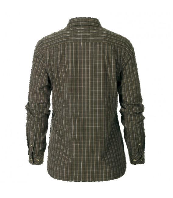 Seeland Claire Lady Olive Night Check marškiniai