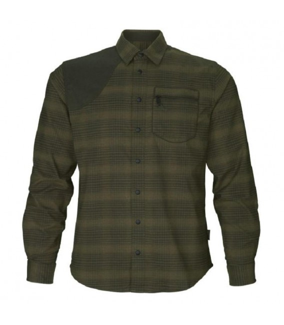 Seeland Terrain Pine Green Check marškiniai