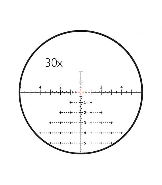 Optinis taikiklis Delta Stryker HD 4,5-30x56 FFP LRD-1T