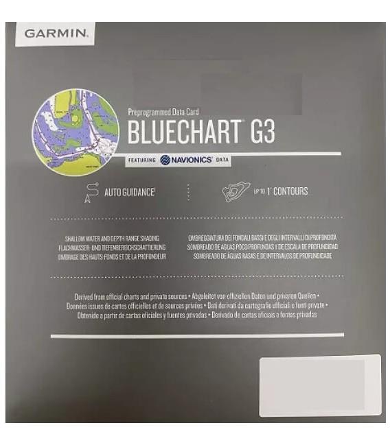 BlueChart g3 Baltijos jūros rytų pakrantės žemėlapis
