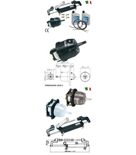 Hidraulinė ULTRAFLEX vairavimo sistema iki 150AG