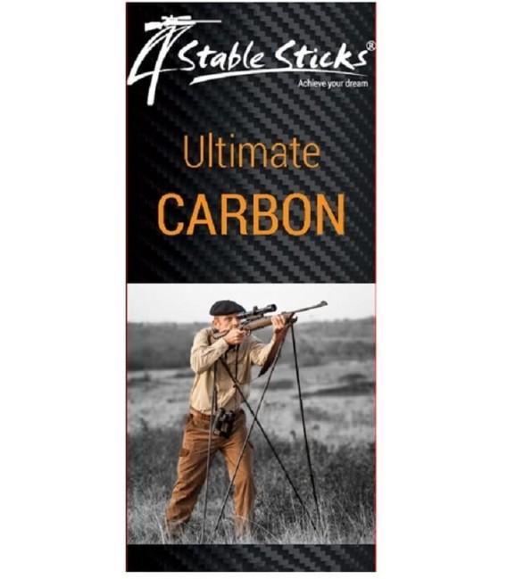 Taikymosi Lazda 4STABLESTICK ULTIMATE CARBON 650G 170CM 4P. CARBON