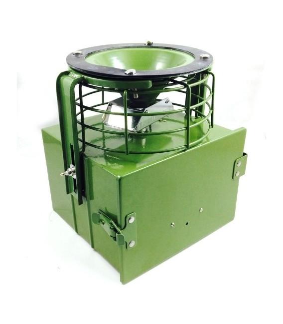 Automatinė metalinė šėrykla su apsauga FEED-PRO 12 V