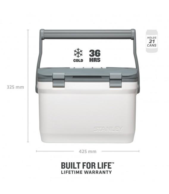Šaltdėžė Stanley Adventure cooler 15,1L Balta