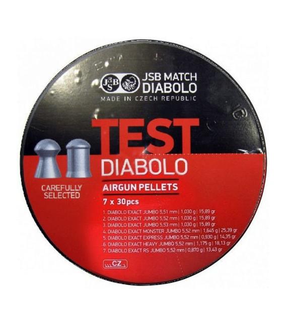 JSB 5,5mm TEST Exact