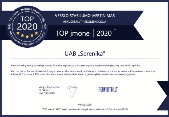 2020 TOP Lietuvos įmonė